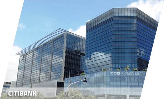 Citibank office Structure