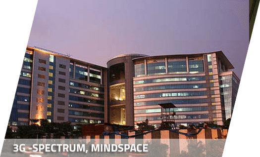 3G - Spectrum, Mindsapce office structure