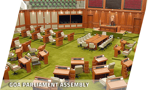Goa parliament Assembly Furniture